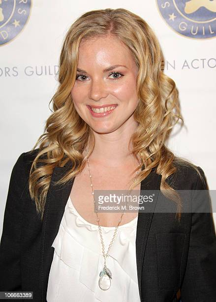 Actress Cindy Busby arrives at the Screen Actors Guild & SAGIndie Breakthrough Filmmakers Party during AFI FEST 2010 presented by Audi held at the...