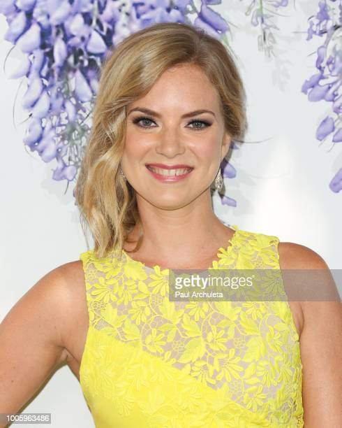 Actress Cindy Busby attends the 2018 Hallmark Channel Summer TCA at Private Residence on July 26 2018 in Beverly Hills California