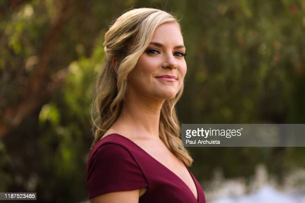 Actress Cindy Busby visits Hallmark Channel's Home Family at Universal Studios Hollywood on November 13 2019 in Universal City California