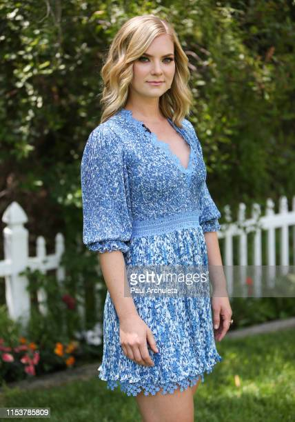 Actress Cindy Busby visits Hallmark's Home Family at Universal Studios Hollywood on June 04 2019 in Universal City California