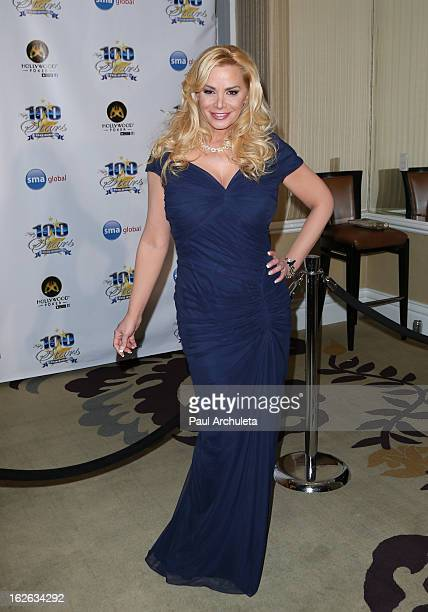 Actress Cindy Margolis attends the 23rd annual Night Of 100 Stars Oscars viewing gala at the Beverly Hills Hotel on February 24 2013 in Beverly Hills...