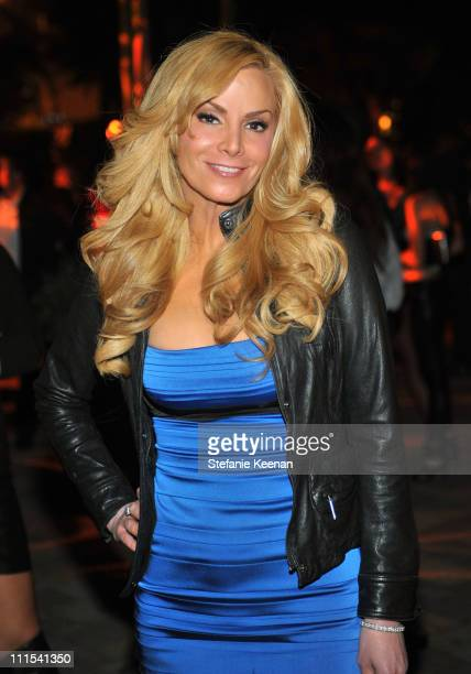 """Actress Cindy Margolis attends the grand opening of """"Pandora"""" at Vibiana on October 27, 2009 in Los Angeles, California."""