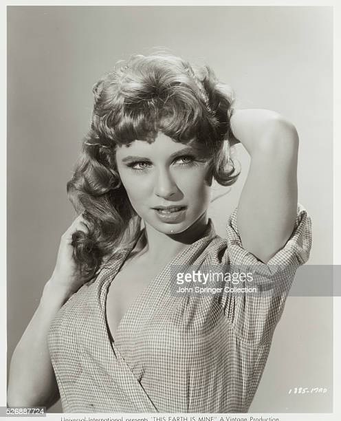 Actress Cindy Robbins plays Buz Dietrick in the 1959 film This Earth Is Mine