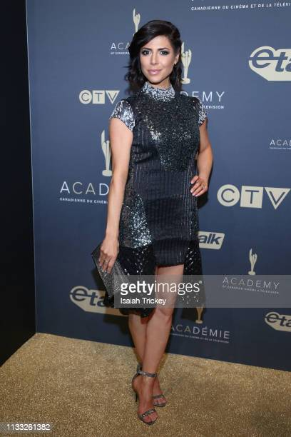 Actress Cindy Sampson attends Canadian Screen Awards The CTV Gala Honouring Excellence In Fiction Programming at Heritage Court Exhibition Place on...