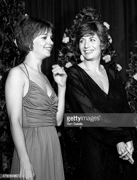 Actress Cindy Williams and actress Penny Marshall attend the Hollywood Radio Television Society's 20th Annual International Broadcasting Awards on...