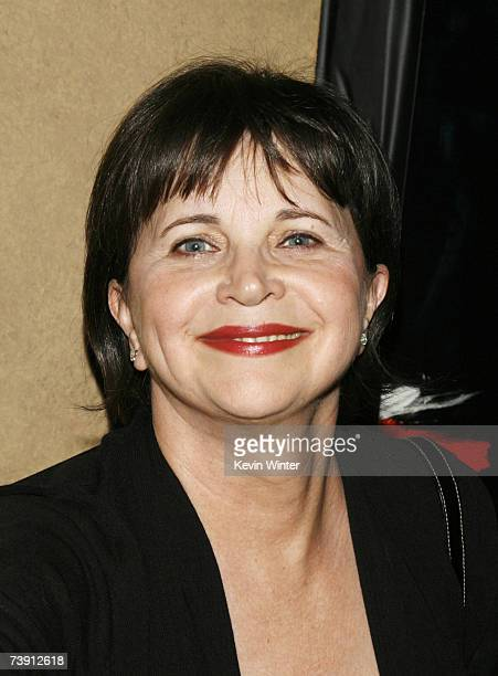 Actress Cindy Williams arrives at the premiere screening of Turner Classic Movies Brando at the Egyptian Theater on April 17 2007 in Los Angeles...