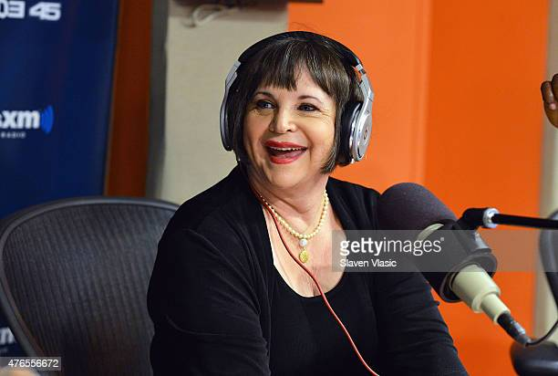 Actress Cindy Williams visits Shade 45 at SiriusXM Studios on June 10 2015 in New York City