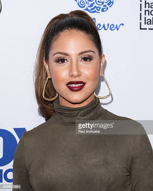 Actress Cinthya Carmona attends Latina Magazine's Hot List party at The London West Hollywood on October 6 2015 in West Hollywood California
