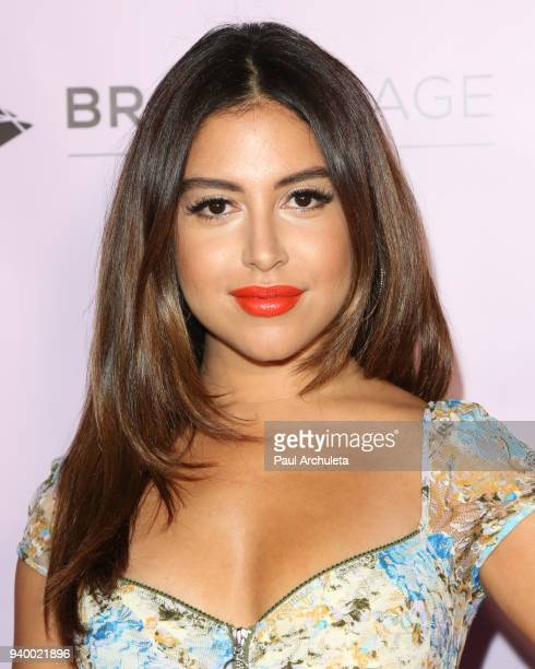 Actress Cinthya Carmona attends the grand opening of the Museum Of Selfies on March 29 2018 in Glendale California