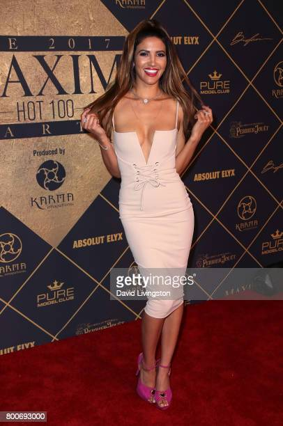 Actress CJ Franco attends the 2017 MAXIM Hot 100 Party at the Hollywood Palladium on June 24 2017 in Los Angeles California