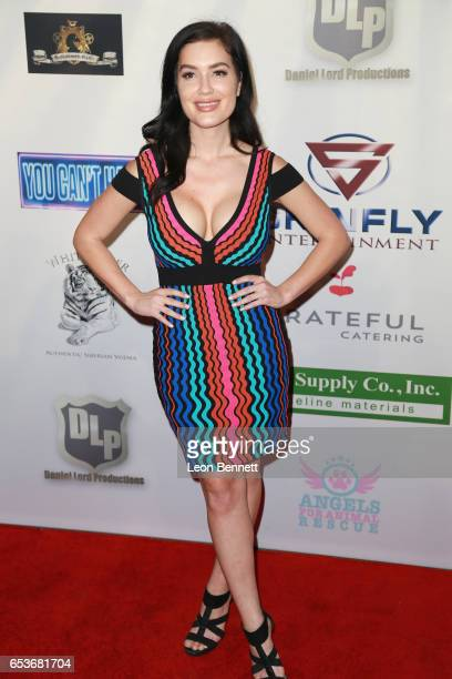 Actress CJ Sparxx arrives at the Premiere Of Skinfly Entertainment's You Can't Have It at TCL Chinese Theatre on March 15 2017 in Hollywood California