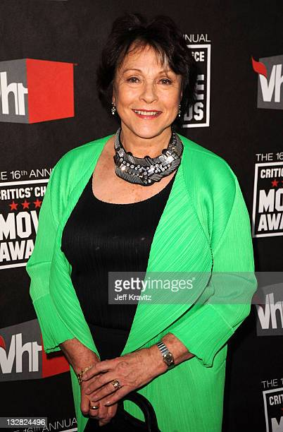 Actress Claire Bloom arrives at the 16th Annual Critics' Choice Movie Awards at the Hollywood Palladium on January 14 2011 in Los Angeles California