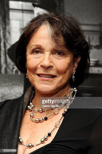 Actress Claire Bloom attends The Academy Of Motion Picture Arts And Sciences' Presents The 60th Anniversary Screening Of Limelight at AMPAS Samuel...