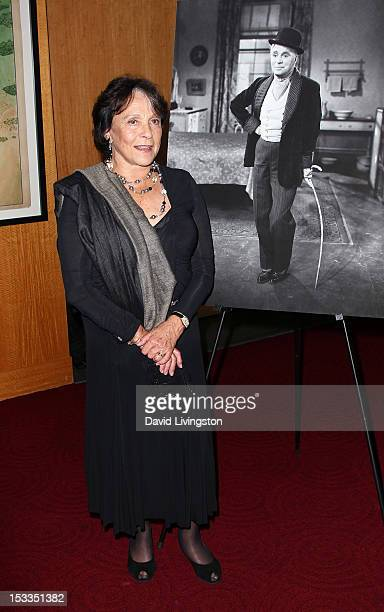 Actress Claire Bloom attends the Academy of Motion Picture Arts and Sciences presentation of the 60th anniversary of Chaplin's Limelight at the AMPAS...