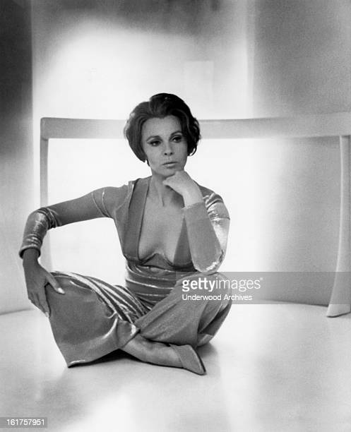 Actress Claire Bloom Hollywood California late 1960s