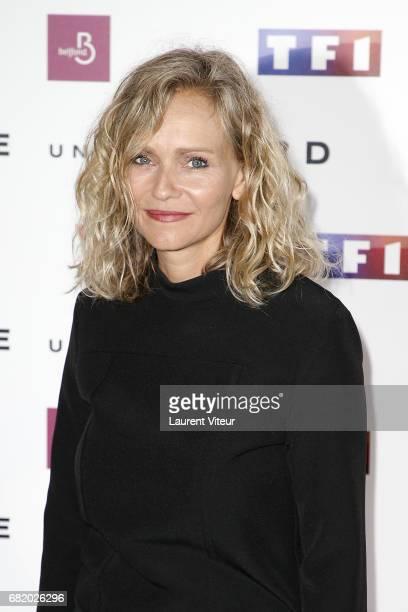 Actress Claire Borotra attends Juste un Regard Premiere at Cinema Gaumont Marignan on May 11 2017 in Paris France