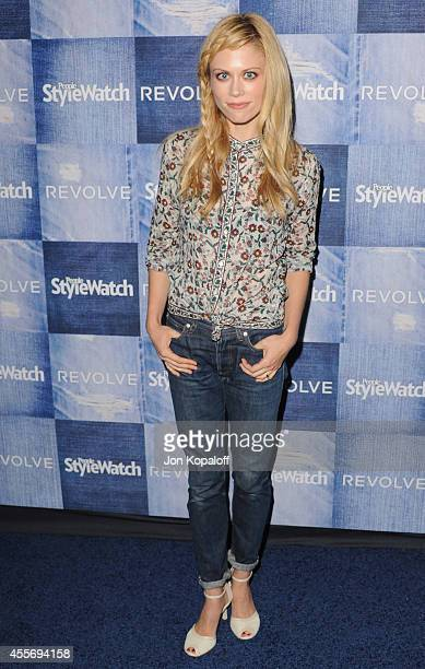 Actress Claire Coffee arrives at the People StyleWatch 4th Annual Denim Awards Issue at The Line on September 18 2014 in Los Angeles California