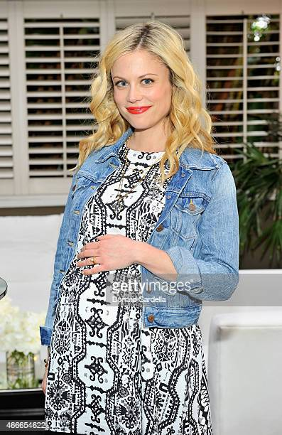 Actress Claire Coffee attends Rachel Zoe and A Pea In The Pod celebrate maternity collaboration at Chateau Marmont on March 17 2015 in Los Angeles...