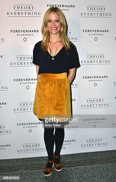 Actress Claire Coffee attends the 'Theory of Everything' New York Screening at Lighthouse International Theater on November 5 2014 in New York City