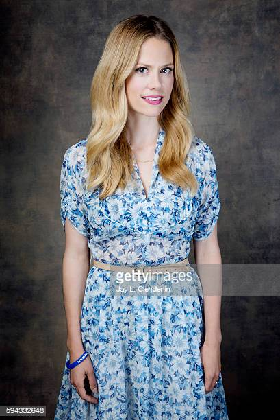 Actress Claire Coffee of 'Grimm' is photographed for Los Angeles Times at San Diego Comic Con on July 22 2016 in San Diego California