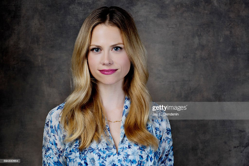 Actress Claire Coffee of 'Grimm' is photographed for Los Angeles Times at San Diego Comic Con on July 22, 2016 in San Diego, California.