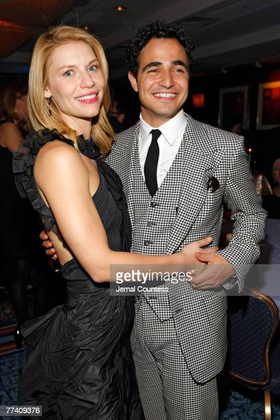 Actress Claire Daines and Fashion Designer Zac Posen at the Pygmalion Broadway Opening Night After Party held at the Marriott Marquis in Times Square...