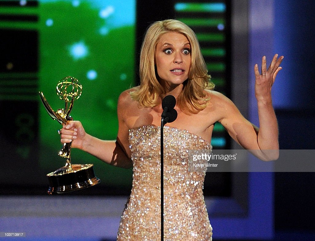 Actress Claire Danes accepts the Outstanding Lead Actress in a Miniseries or Movie award onstage at the 62nd Annual Primetime Emmy Awards held at the Nokia Theatre L.A. Live on August 29, 2010 in Los Angeles, California.