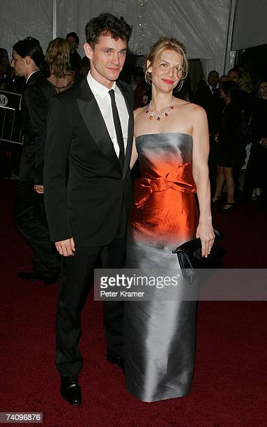 Actress Claire Danes and actor Hugh Dancy attend the Metropolitan Museum of Art Costume Institute Benefit Gala 'Poiret King Of Fashion' at the...