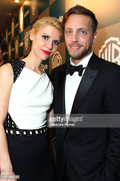Actress Claire Danes and Editor of InStyle Ariel Foxman attends the InStyle and Warner Bros 69th Annual Golden Globe Awards PostParty at The Beverly...