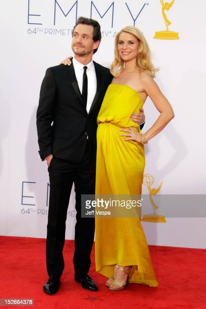 Actress Claire Danes and guest arrive to the the 64th Primetime Emmy Awards at Nokia Theatre LA Live on September 23 2012 in Los Angeles California