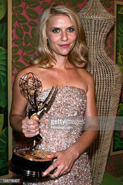Actress Claire Danes arrives at HBO's Annual Emmy Awards after party at the Pacific Design Center on August 29, 2010 in West Hollywood, California.