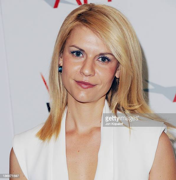 Actress Claire Danes arrives at the 2011 AFI Awards Luncheon at Four Seasons Hotel Los Angeles at Beverly Hills on January 13, 2012 in Beverly Hills,...