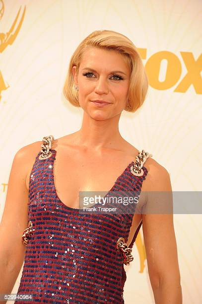Actress Claire Danes arrives at the 67th Annual Primetime Emmy Awards held at the Microsoft Theater