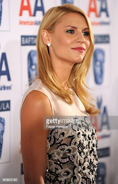 Actress Claire Danes arrives at the 8th Annual British Academy Of Film And Television Arts Britannia Awards at the Hyatt Regency Century Plaza Hotel...