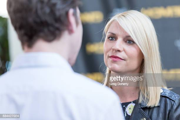 Actress Claire Danes arrives at the Emmy FYC Event For Showtime's Homeland at the Zanuck Theater at 20th Century Fox Lot on May 25 2016 in Los...