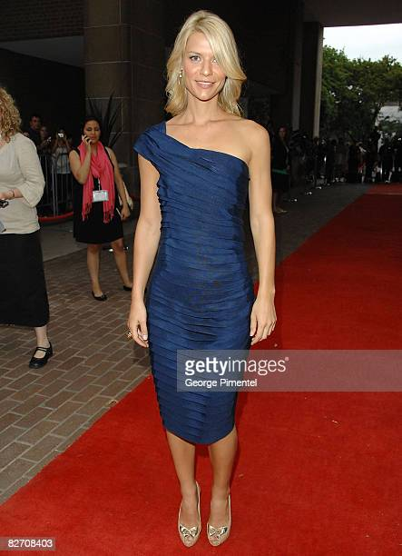"""Actress Claire Danes arrives at the """"Me and Orson Welles"""" Premiere held at the Ryerson Theatre during the 2008 Toronto International Film Festival on..."""