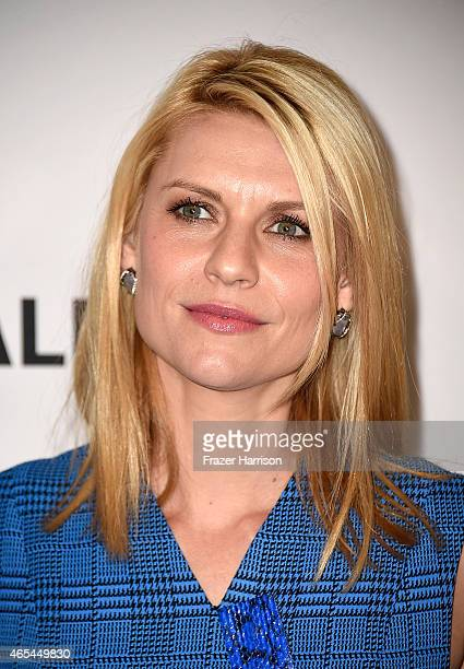Actress Claire Danes arrives at The Paley Center For Media's 32nd Annual PALEYFEST LA Homeland at Dolby Theatre on March 6 2015 in Hollywood...