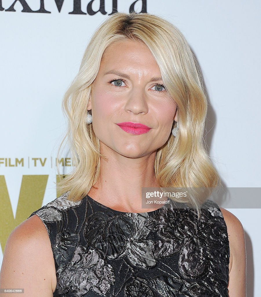 Actress Claire Danes arrives at Women In Film 2016 Crystal + Lucy Awards Presented By Max Mara And BMW at The Beverly Hilton Hotel on June 15, 2016 in Beverly Hills, California.