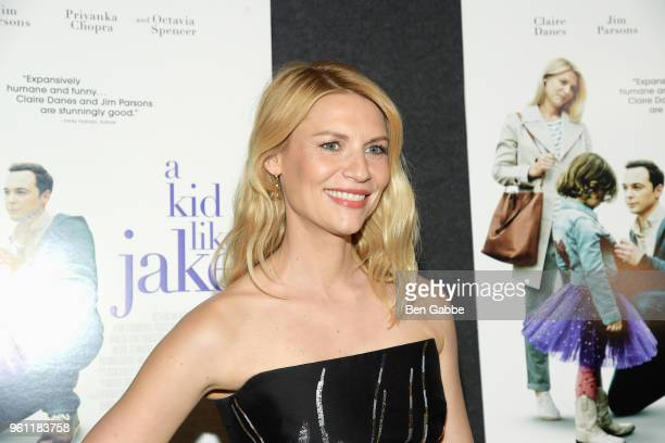 Actress Claire Danes attends 'A Kid Like Jake' New York premiere at The Landmark at 57 West on May 21 2018 in New York City