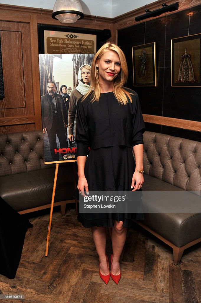 Actress Claire Danes attends a Private Reception And Screening Of Homeland Season 4 on September 4, 2014 in New York City.