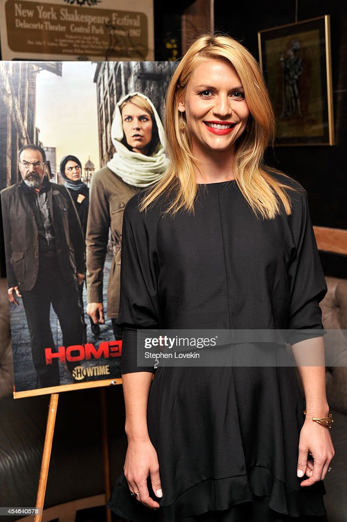 Private Reception And Screening Of Homeland Season 4 : News Photo