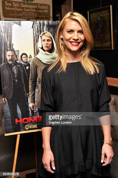 Actress Claire Danes attends a Private Reception And Screening Of Homeland Season 4 on September 4 2014 in New York City