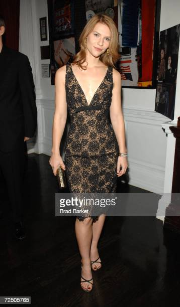 Actress Claire Danes attends Out Magazine's Out 100 Awards party sponsored by Moet Hennessey at Capitale on November 10, 2006 in New York City.