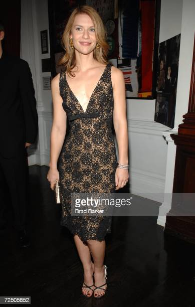Actress Claire Danes attends Out Magazine's Out 100 Awards party sponsored by Moet Hennessey at Capitale on November 10 2006 in New York City