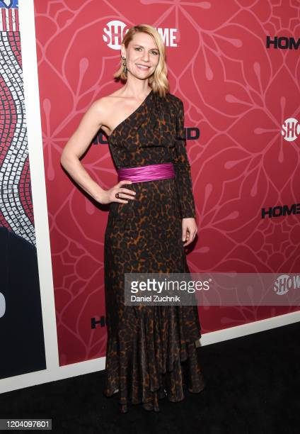 Actress Claire Danes attends Showtime's Homeland Season 8 premiere at Museum of Modern Art on February 04 2020 in New York City