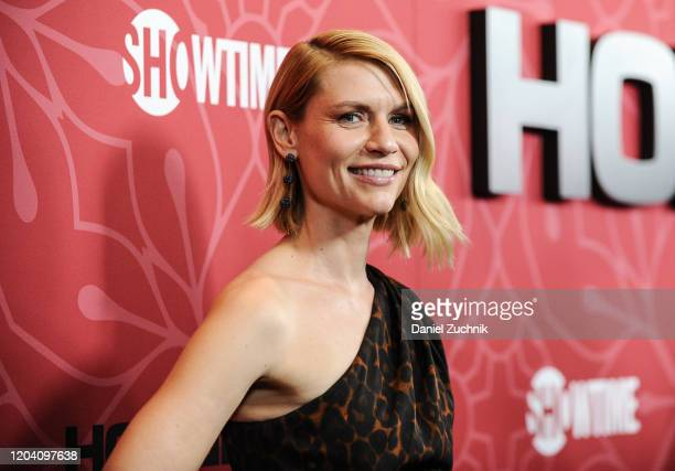 """Actress Claire Danes attends Showtime's """"Homeland"""" Season 8 premiere at Museum of Modern Art on February 04, 2020 in New York City."""