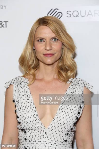 Actress Claire Danes attends the 2018 Tribeca Film Festival Tribeca Talks Director's Series Lesli Linka Glatter with Claire Danes at Spring Studios...