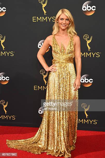 Actress Claire Danes attends the 68th Annual Primetime Emmy Awards at Microsoft Theater on September 18 2016 in Los Angeles California