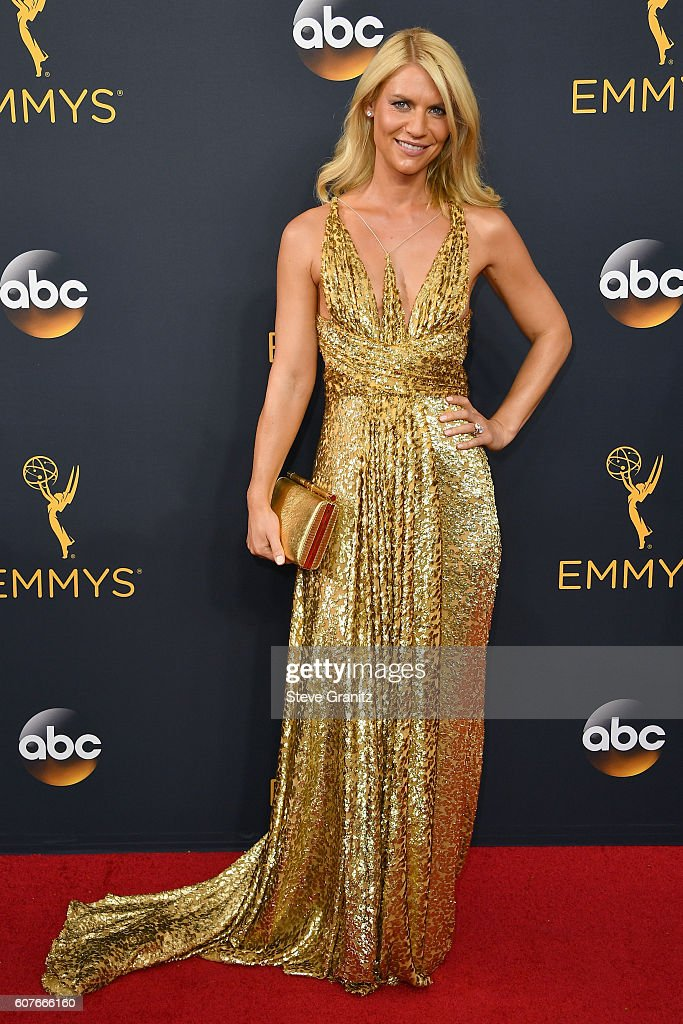 Actress Claire Danes attends the 68th Annual Primetime Emmy Awards at Microsoft Theater on September 18, 2016 in Los Angeles, California.