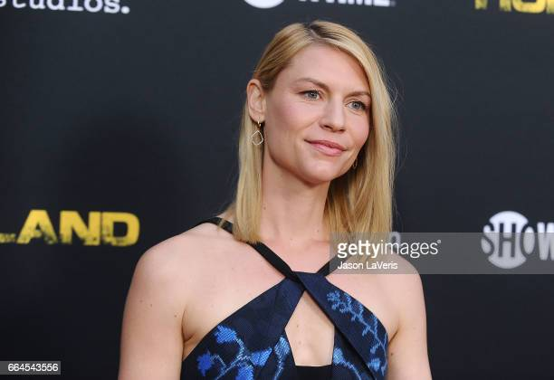 Actress Claire Danes attends the ATAS Emmy screening of Showtime's Homeland at NeueHouse Hollywood on April 3 2017 in Los Angeles California